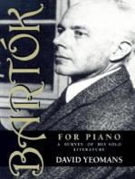 Bartók for Piano