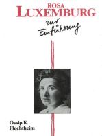 Rosa Luxemburg zur Einführung