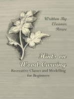 Hints on Wood-Carving - Recreative Classes and Modelling for Beginners