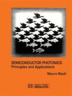 Semiconductor photonics. Principles and Applications