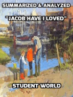 """Summarized & Analyzed """"Jacob Have I Loved"""""""