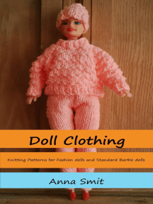 Doll Clothing: Knitting Patterns For Fashion Dolls And Standard Barbie Dolls