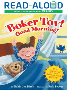 Boker Tov!: Good Morning!