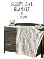 Sleepy Owl Blanket