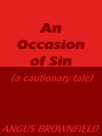 An Occasion of Sin (a cautionary tale)