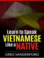 Learn to Speak Vietnamese Like a Native