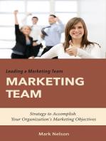 Leading A Marketing Team