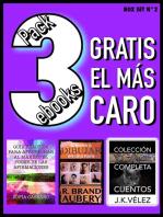 Pack 3 ebooks, Gratis el más caro. Box Set no2