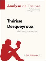 Thérèse Desqueyroux de François Mauriac (Analyse de l'oeuvre)