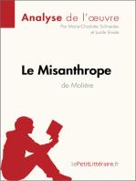 Le Misanthrope de Molière (Analyse de l'oeuvre)