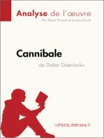 Cannibale de Didier Daeninckx (Analyse de l'oeuvre)