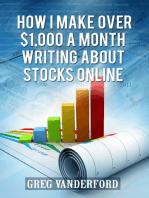 How I Make Over $1,000 a Month Writing About Stocks Online