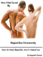 How I Had Cured My Slipped Disc Permanently