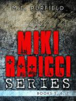 Miki Radicci Series (Books 5, 6, & 7)