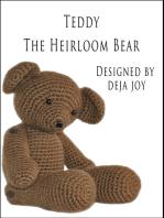 Teddy the Heirloom Bear