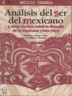 Análisis del ser del mexicano