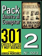 Pack Ahorra al Comprar 2 (No 023): 301 Chistes Cortos y Muy Buenos & Aprende a dibujar en una hora