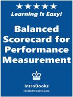 Balanced Scorecard for Performance Measurement