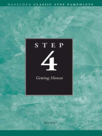 Step 4 AA Getting Honest: Hazelden Classic Step Pamphlets