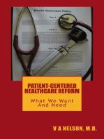 Patient-Centered Healthcare Reform