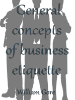 General Concepts of Business Etiquette