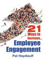 21 Ways to Increase Employee Engagement