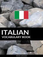 Italian Vocabulary Book