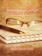 Improve Your College Academic Essays