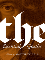 The Essential Goethe