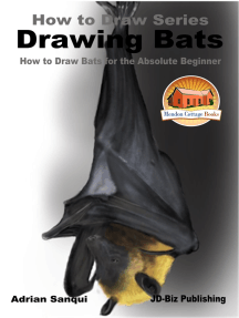 Drawing Bats: How to Draw Bats for the Absolute Beginner