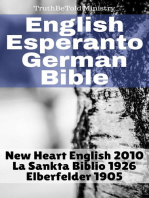 English Esperanto German Bible