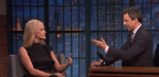 Seth Meyers Questions Kellyanne Conway (and the Politics of Late-Night)