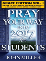 Pray Your Way Into 2017 for Students (Grace Edition) Volume 1