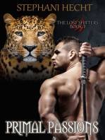 Primal Passions (Lost Shifters Book 1)