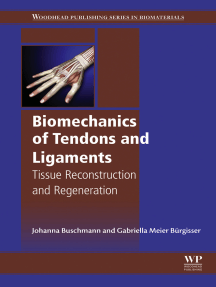 Biomechanics of Tendons and Ligaments: Tissue Reconstruction and Regeneration