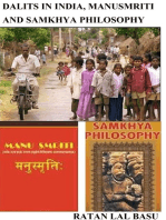 Dalits in India, Manusmriti and Samkhya Philosophy
