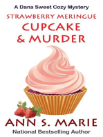 Strawberry Meringue Cupcake & Murder