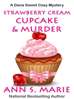 Strawberry Cream Cupcake & Murder