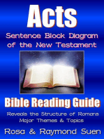 Acts - Sentence Block Diagram Method of the New Testament