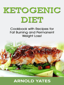 Ketogenic diet: Cookbook with recipe for fat burn and weight loss