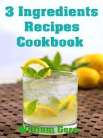 3 Ingredients Recipes Cookbook