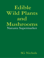 Edible Wild Plants and Mushrooms, Natures Suppermarket.