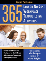365 Low or No Cost Workplace Teambuilding Activities