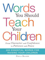 Words You Should Teach Your Children