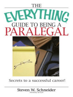 The Everything Guide To Being A Paralegal