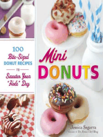 """Mini Donuts: 100 Bite-Sized Donut Recipes to Sweeten Your """"Hole"""" Day"""