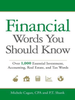 Financial Words You Should Know