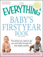The Everything Baby's First Year Book
