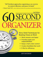 60 Second Organizer