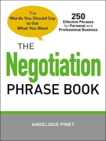 The Negotiation Phrase Book